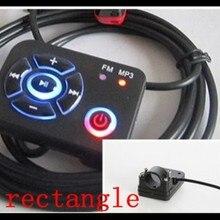 1 шт. мотоцикл FM радио мотоцикл MP3 плеер кабель аудио провод управления 2,5 м светодиодный водонепроницаемый пульт дистанционного управления