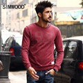 Simwood 2016 New Arrival Mens Hoodies Sweatshirts O-neck Mens Sweatshirts Long Mens Tee Mens Hooded Free Shipping WY831