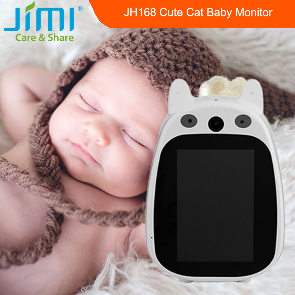 ФОТО Jimi JH168 Cute Baby Monitor IP Camera Wireless Wifi Network CCTV Camera P2P Real View Smart Security Surveillance Audio Record