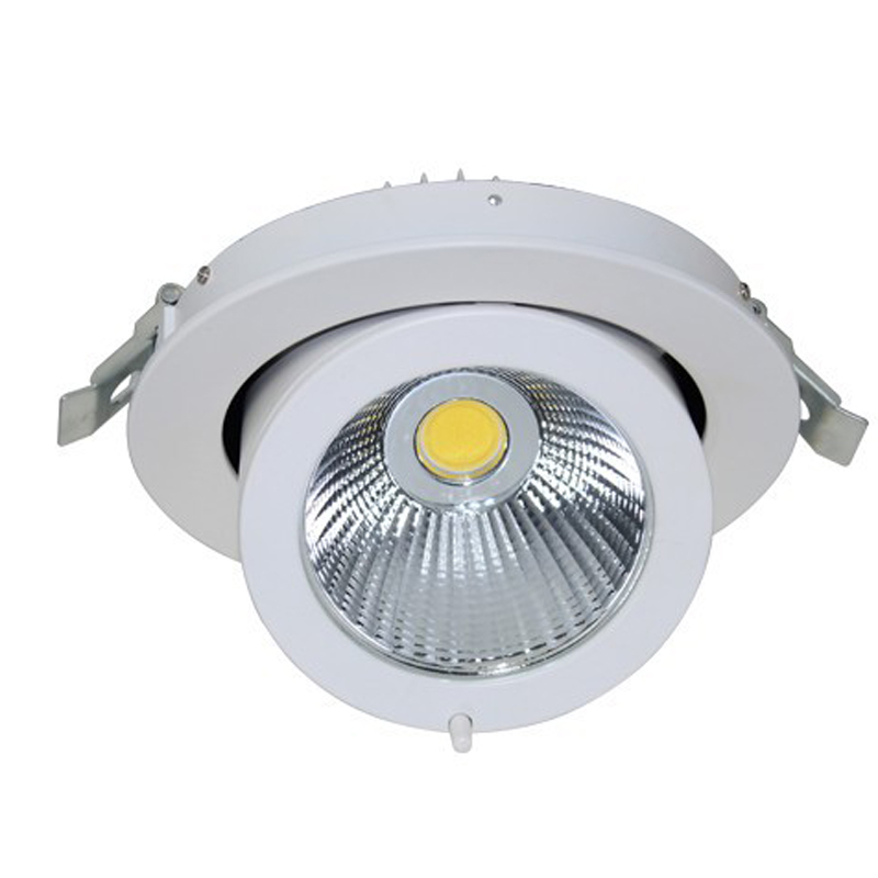 LED Downlight 35 W 45 W plafonnier Dimmable réglable rotatif LED lumière de tronc cardan Ac85-265v Direction LED Spot - 2