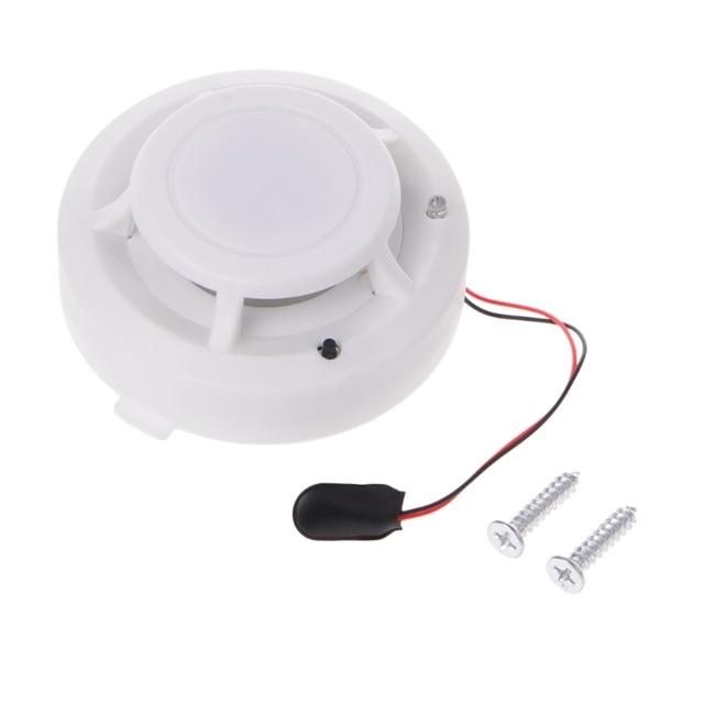 ความไวสูงใหม่ Photoelectric SMOKE Fire Detector แบตเตอรี่ 9V