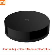 Xiaomi Mijia Universal Intelligent Smart Remote Controller Voice Control WIFI+IR Switch 360 Degrees Automation Home Smart Sensor(China)