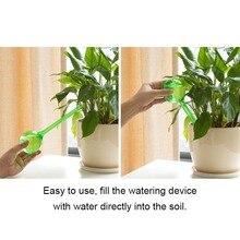 Самополивающаяся система, Искусственные стеклянные поливочные растения, цветы, автоматическое поливочное устройство из ПВХ, Тип шарика, капельное устройство