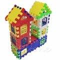 Дети Смешные Кирпичи Строительство Дома Обучения Блоки Строительство Игрушка Установить