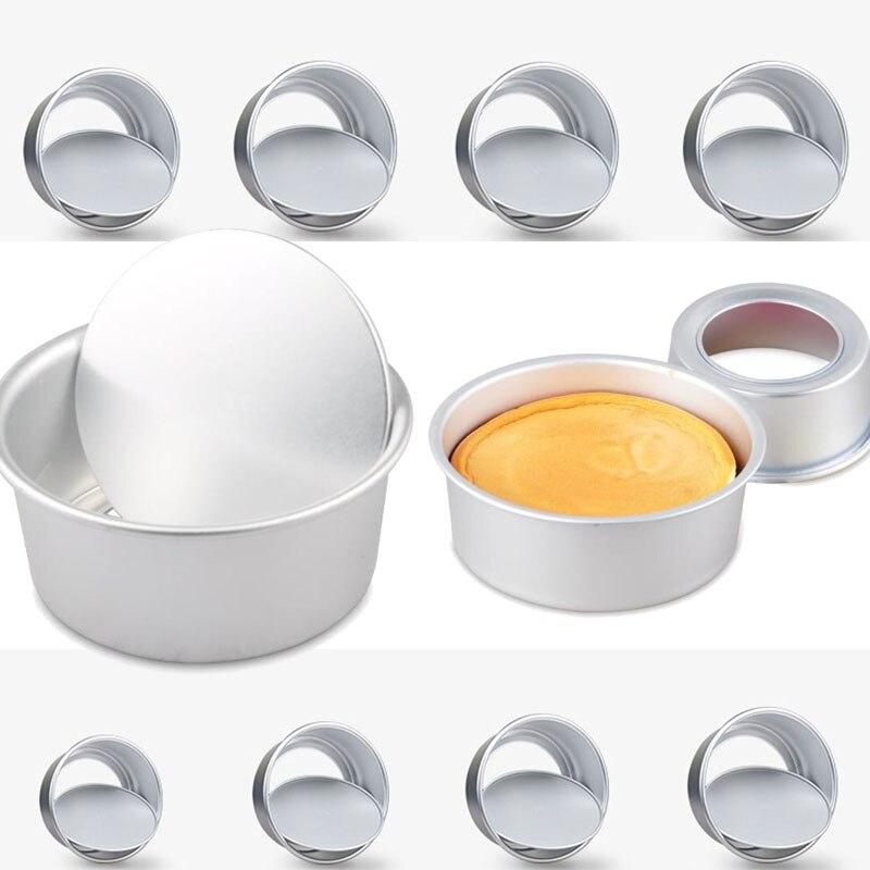 Baking Pans Kitchen Cake Tool Cake Mold Metal Round Baking Dish Bakeware Non-stick Mold Kitchen Accessories Gadget 5-18inch