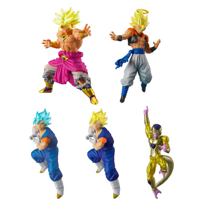 Dragon Ball VS SP 02 conjunto Completo Figura Gogeta Gashapon Brinquedos ~, Broly, Frieza ~ 100% Original
