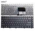 Клавиатура для ноутбука GZEELE US Black  новая английская клавиатура для HP  для ProBook 4340s 4341s 4345s 4346s  черная клавиатура для ноутбука US без рамы