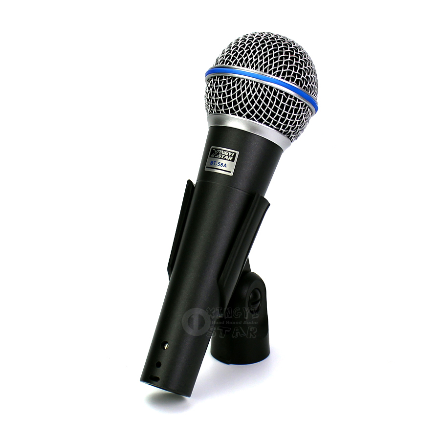 buy bt58a professional cardioid handheld mic vocal dynamic microphone system. Black Bedroom Furniture Sets. Home Design Ideas