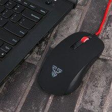 Fantech G10 Светодиодный Mini USB Проводная игровая клавиатура Мышь 2400 Точек на дюйм Оптическая профессиональная мышь для ПК Компьютерная мышь для ноутбука Gamer обновление подарок