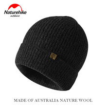 Naturehike Winter Climbing Knitted Wool Hat Hot Hats Ear Protection Hiking Cap Light Soft Outdoor Camping Travel Hiking Hats(China)