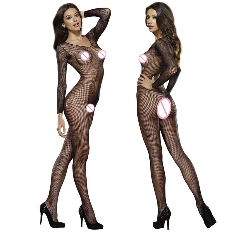 HTB1_kn0K3TqK1RjSZPhq6xfOFXaW Picardías de encaje transparente para mujer, ropa de dormir de talla grande 6XL, Sexy, camisas para dormir