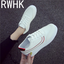 RWHK 2019 autumn new female models flat bottom low-heeled round deep mouth muffin bottom cross strap sneakers running shoes B371 convertible strap low heeled mules