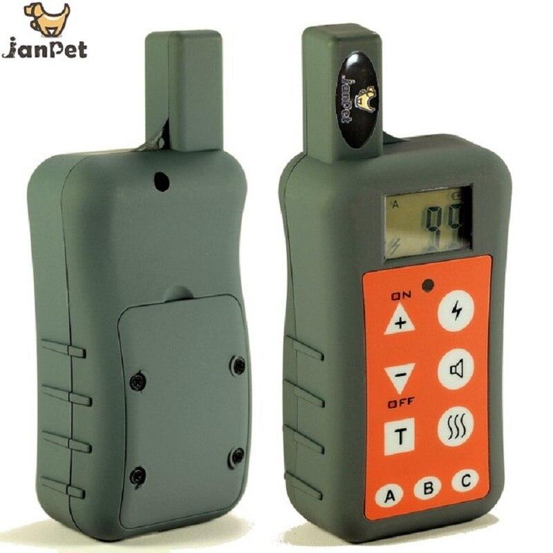 JanPet wodoodporna i akumulator 1200 M/1300 metrów zasięg pilota obroża treningowa dla psa dla 1 lub 2 lub 3 psy trener w Sprzęt zręcznościowy od Dom i ogród na  Grupa 3