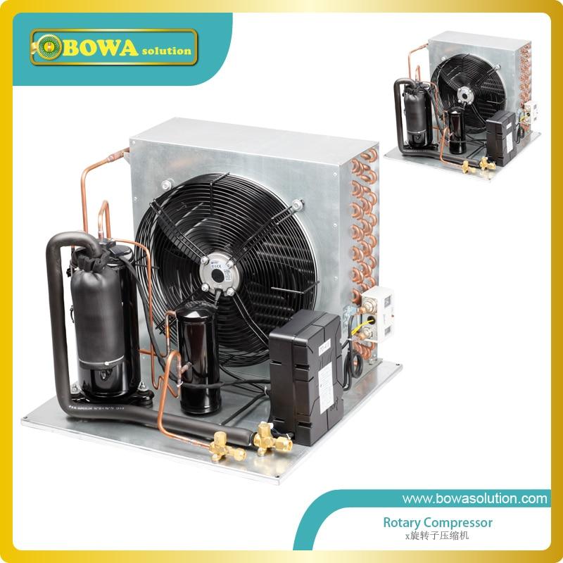 1HP R404a Low Temperature compressor Unit for beverage cooler 1hp r404a low temperature compressor unit for beverage cooler