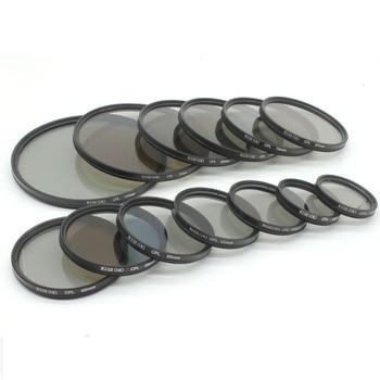 RISE (Reino Unido) 43mm Polarizador Circular CPL C-PL lente de filtro para Canon NIKON Sony Olympus Cámara