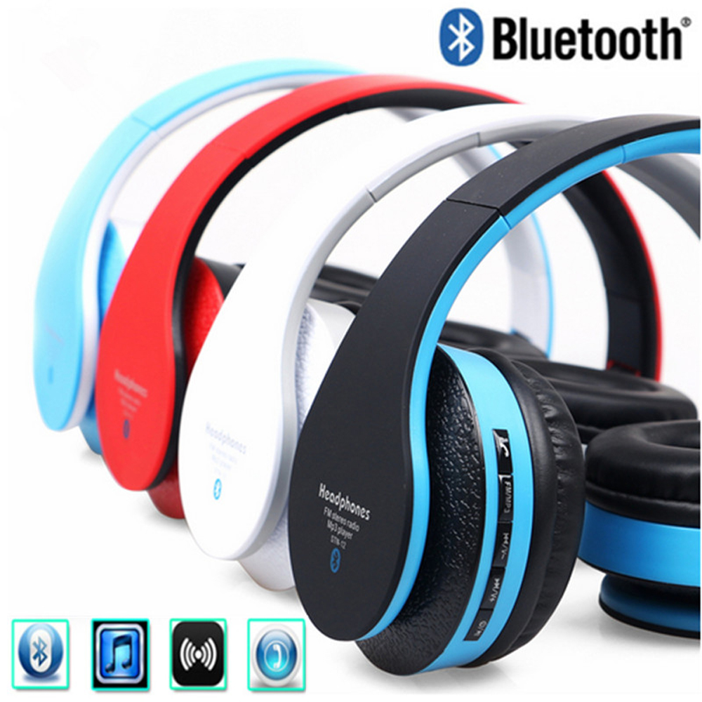 Blutooth Stereo Cordless Auriculares Casque Audio Bluetooth Headset Wireless Headphone Big Earphone For Computer Your head Phone fpv 1 2ghz 100mw 4ch wireless audio