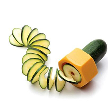 NEW Kitchen Instruments Equipment Gadget Funnel Mannequin Spiral Slicer Vegetable Shred Gadget Cooking Salad Kitchen Device31