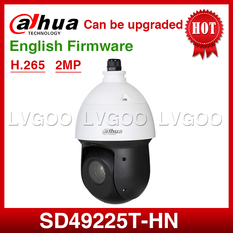 Dahua SD49225T HN 2MP 25x Starlight IR 100M PTZ Speed Dome H 265 IP66 Network Camera