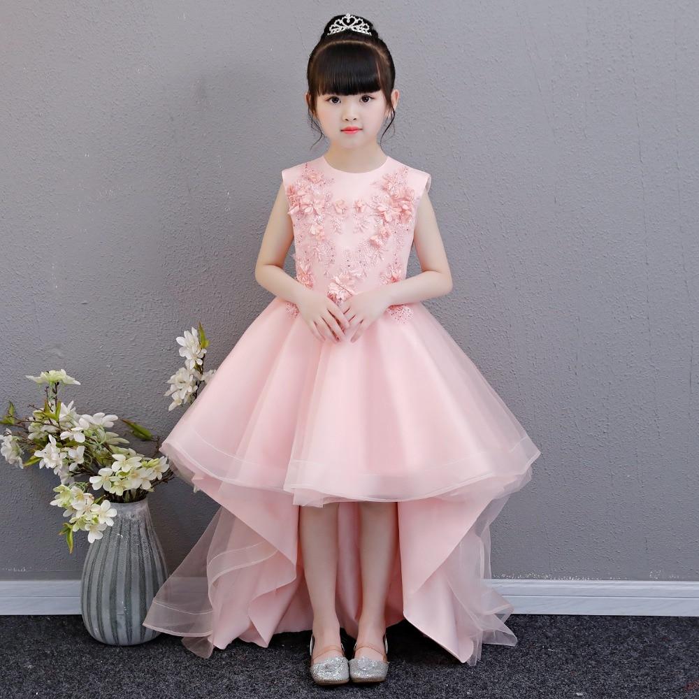 5074e7c01 Best Quality White Tulle Flower Girl Dresses For Weddings Elegant ...