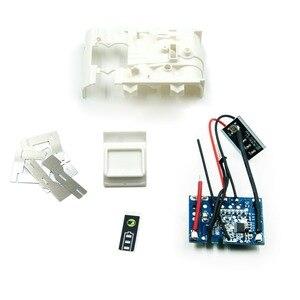 Image 4 - Сменный комплект корпуса аккумулятора с печатной платой и светодиодным индикатором для Makita, батарея 18 в, BL1830, BL1840, BL1850, без элементов питания