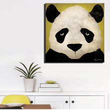 Cute Animal Cartoon Canvas Painting Art Print Poster Picture Wall Painting Children Baby Bedroom Wall Decoration Home Dceor Gift(China)