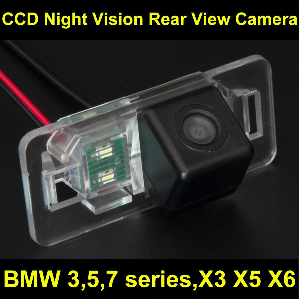 imágenes para CCD Cámara de visión Trasera para Estacionarse en Reversa de La Cámara para BMW E38 E39 E46 E90 E91 E92 E60 E61 E65 E66 735 740 745 750 760