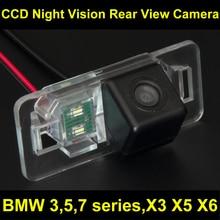 CCD Cámara de visión Trasera para Estacionarse en Reversa de La Cámara para BMW E38 E39 E46 E90 E91 E92 E60 E61 E65 E66 735 740 745 750 760