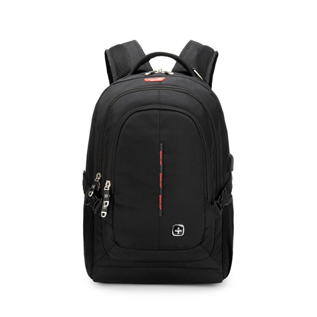75b04c9928 Manufacturers Wholesale Swiss Warrior Saber Computer Bag USB Light Business Casual  Backpack Waterproof Travel Backpack