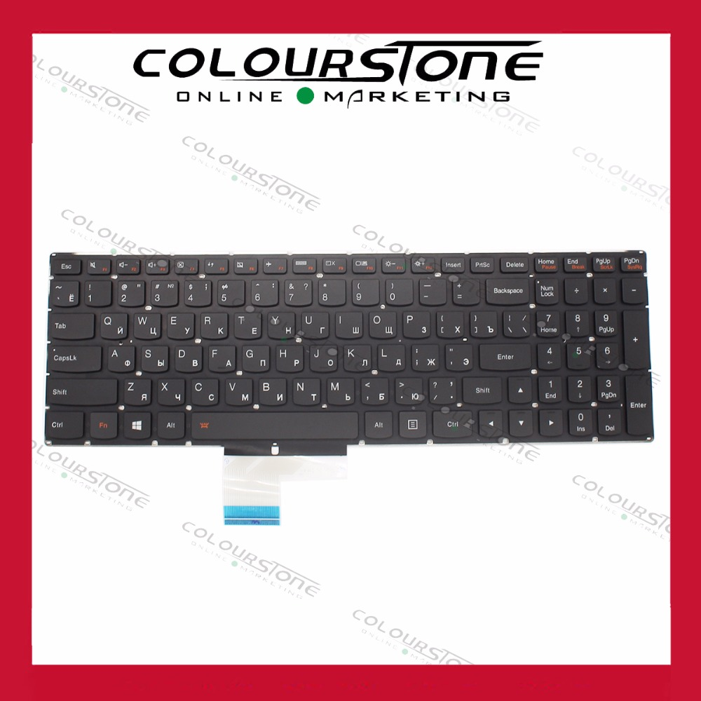 NEW Russia Laptop keyboard For Lenovo Y50 Y50-70 Y50-70A Y50-70AM-IFI Y50-70AM-ISE Laptop Keyboard With Backlit keyboard