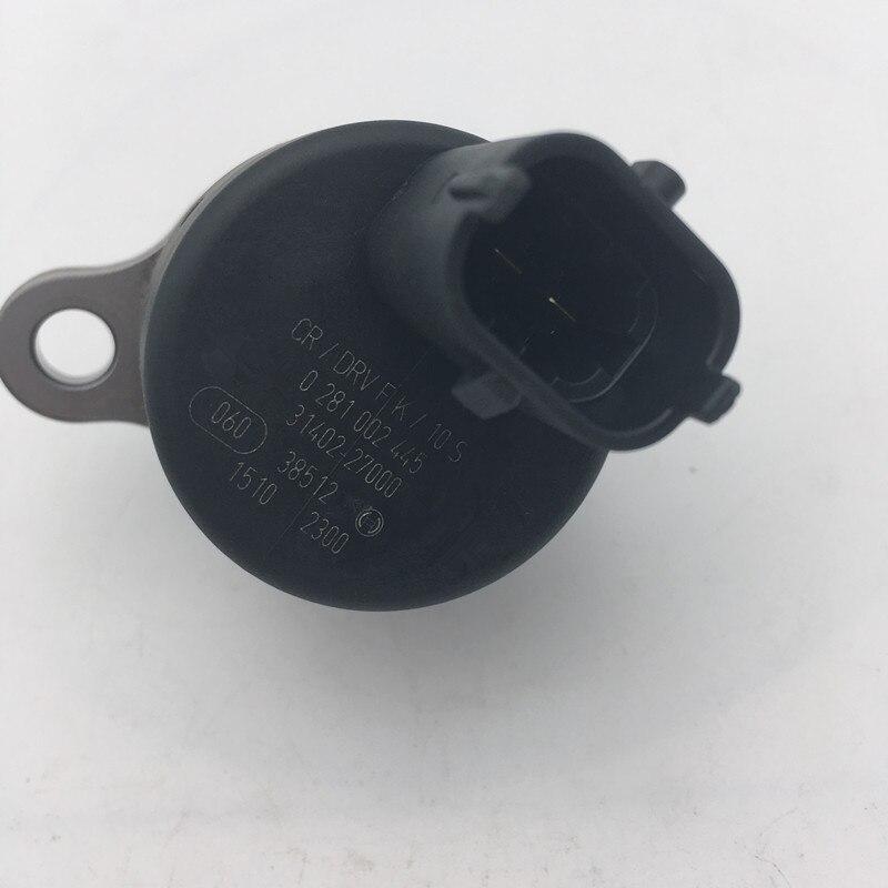 0281002445 Common Rail Pressure Regulator 0 281 002 445 for Hyundai KIA Carens II 2.0 CRDi XTREK 2.0 CR 31402-27000 31400-27500 hyundai accent ii lc 1 5 crdi 60 квт 82 пс powersteering серво 57100 до 25300 92