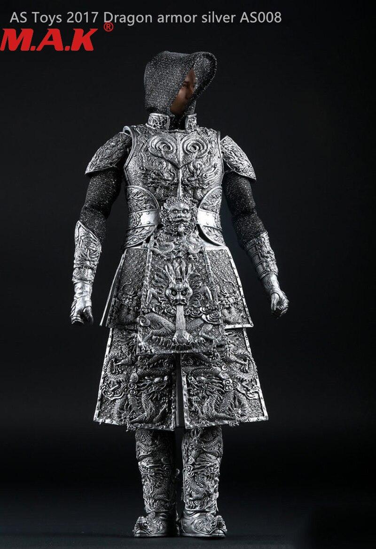 1/6 échelle ancien général chevalier armure battlegear ensemble modèle ruban AS008 costumes vêtements pour 12
