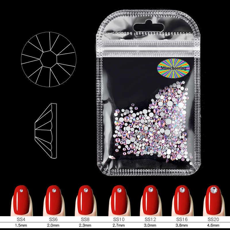 สีชมพู AB สี Charm Nail Art ตกแต่ง Rhinestones อัญมณีแก้วหัตถกรรมสำหรับเสื้อผ้าสร้อยข้อมือ 3d เล็บอุปกรณ์เสริมเครื่องมือ