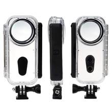 جديد Insta360 واحد X 5 M واقية مشروع حالة مثبت مضاد للماء قذيفة الغوص حالة ل Insta360 واحد X عمل كاميرا الملحقات