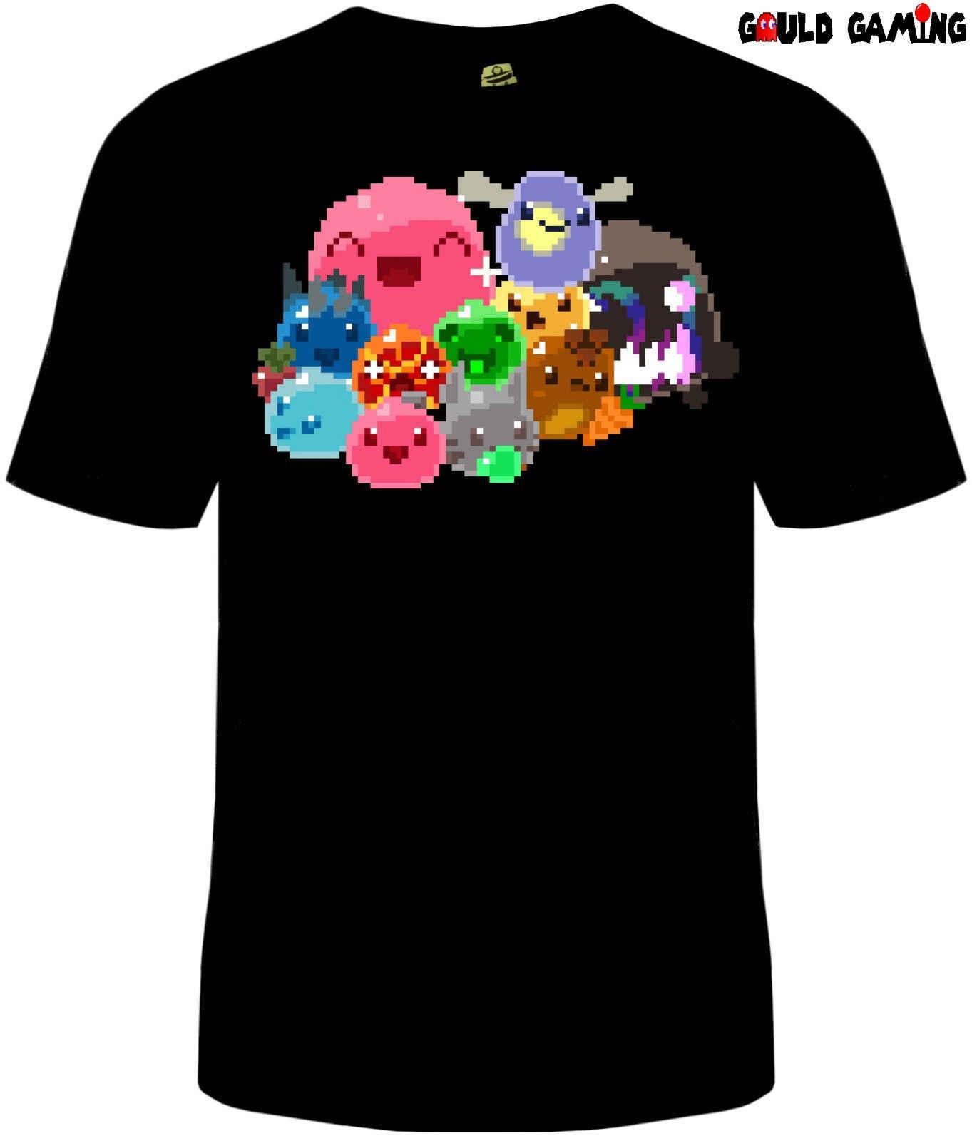 Slime Rancher 8 bit T Shirt Unisex Mens Cotton Slimes Tarr