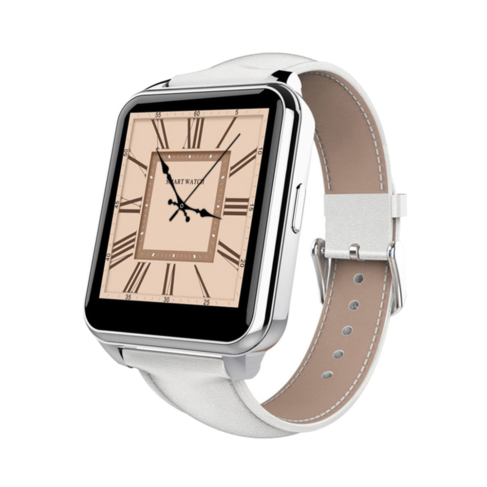 1 55 IPS HD Screen font b Smartwatch b font with Leather Brand Android Smart Watch