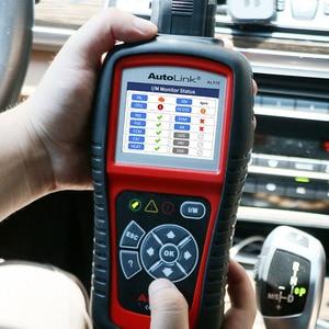 Image 3 - Autel 100% Originl OBD2 Scanner Car Diagnostic tool Code Reader AutoLink AL519 OBD Automotive Tool  EOBD  Automotive Scanner