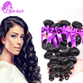8A Peruvian Loose Wave Virgin Hair Cheap Unprocessed Peruvian Human Hair Bundles 4pcs lot Pervian Hair Bundles Free Shipping