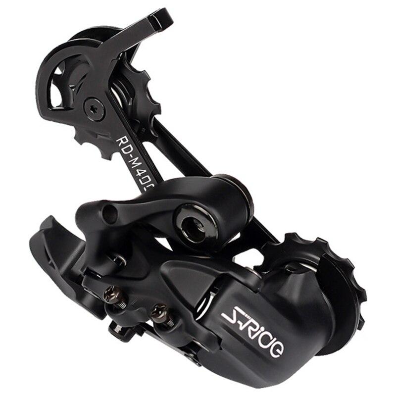 Bikein Pro Rd-M400 dérailleur arrière à Cage longue pour vélo de montagne 10/11 vitesses Compatible avec les pièces de vitesses de vélo Shimano