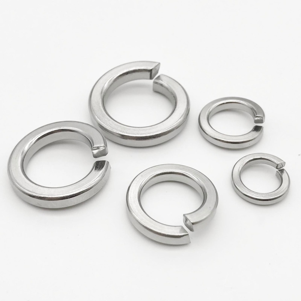 M10 Stainless Steel Spring Lock Washers
