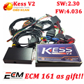 V4.036 KESS V2 OBD2 Менеджер Тюнинг Комплект Нет Маркер Limited kess V2.30 KESS V2 4.036 Автомобилей ЭКЮ Программист бесплатная ECM titanium программного обеспечения