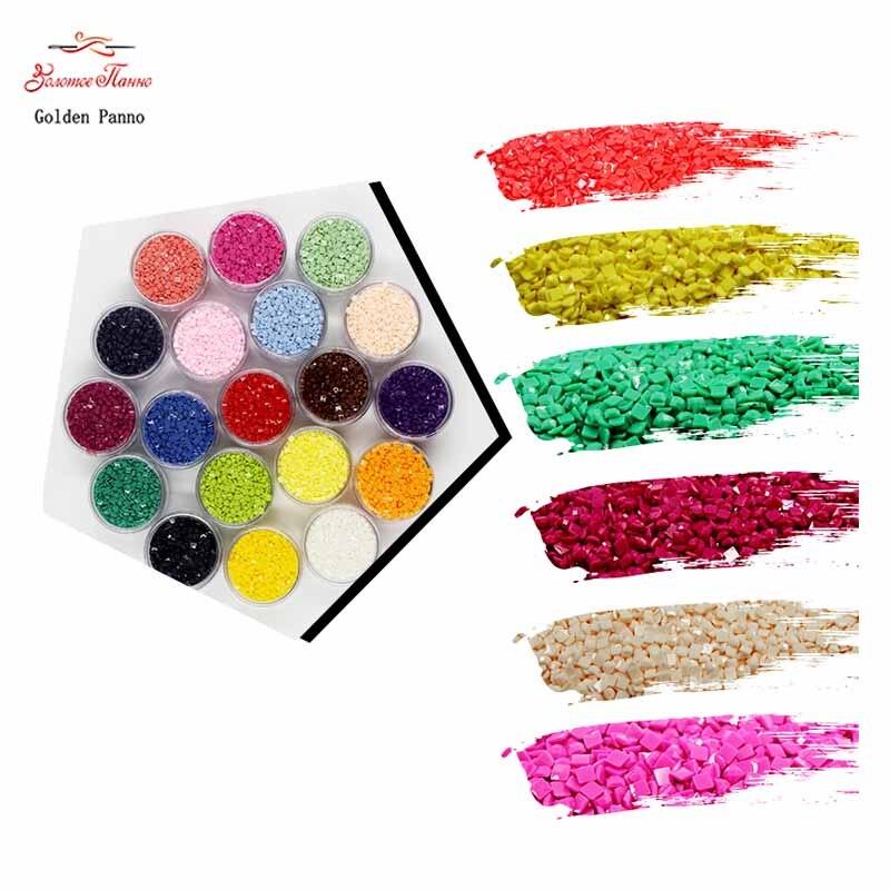 2000pcs Full Square Diamond Mosaicd For Diamond Painting DIY  Embroidery Dmc 310  Cross Stitch 3D Decoration Beads Crafts