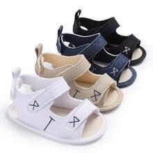 Baby shoes newborn children's boys embroidery geometric patt