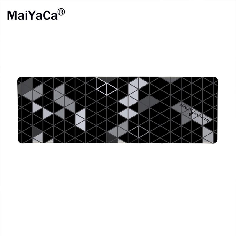 Maiyaca impression edge locking rubber to go counter strike CS mousepads rats mat pattern design DIY computer gaming mouse pad недорго, оригинальная цена