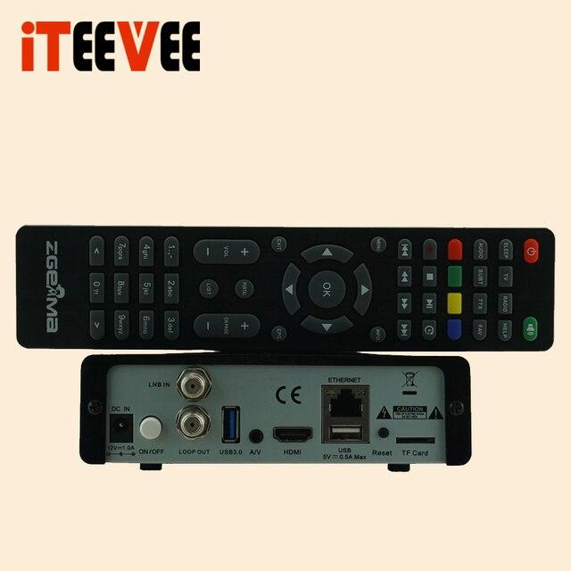 ZGEMMA H9S DVB-S2X Multistream 4K UHD Satellite Receiver Support Middleware Stalker 1pc