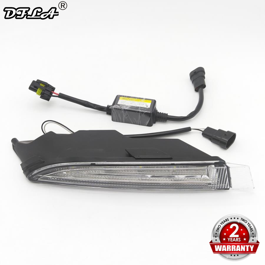 Right Side Light For VW Golf 6 R20 2009 2010 2011 2012 2013 Car-Styling LED DRL Daytime Running Light Waterproof Wire Of Harness golf 3 td 2011