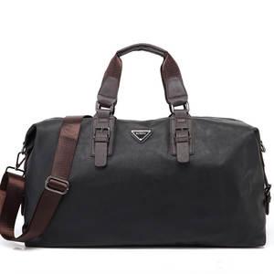 23ec62bd86 GYKZ Leather Men Travel Shoulder Bag For Women Large Capacity Duffle Bag