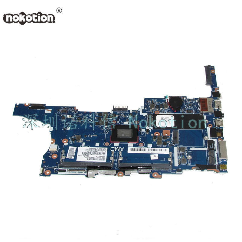 NOKOTION  Laptop Motherboard for HP 745 G3 A10-8700B UMA 827575-001 Mainboard Full works