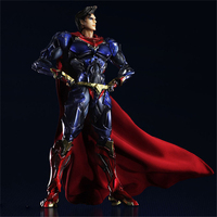 Haocaitoy PA Figures Superman Doll PVC Model Variant Action Figures Collectible Model Toys 26.5cm