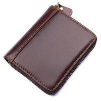 AOEO Card Id Holders Unisex For Men Women Accordion Genuine Leather Business Card Case To Protect