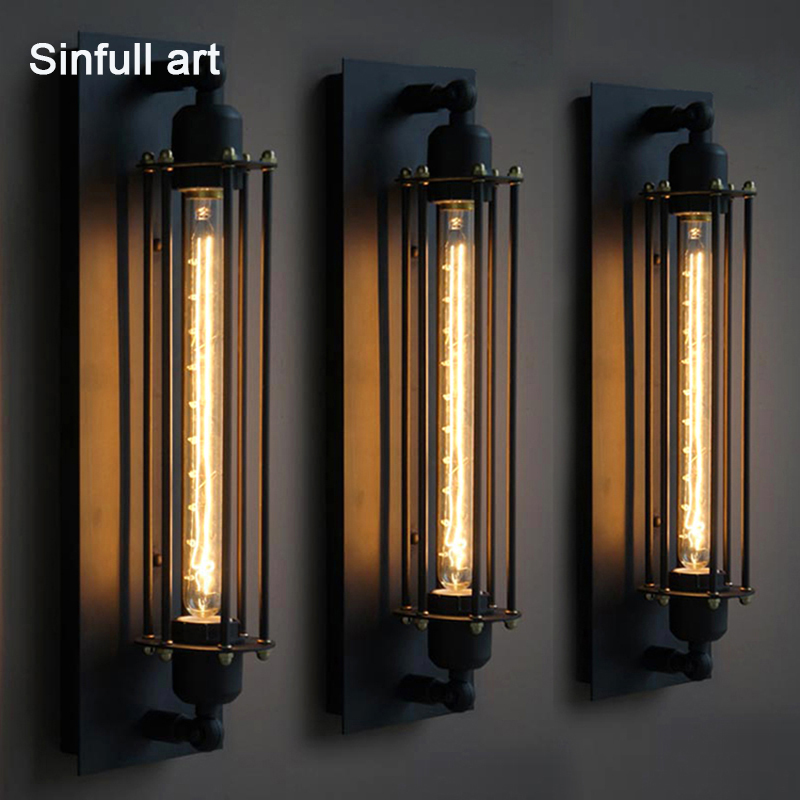 Industrial Edison Wall Lamp American Style Wall Light